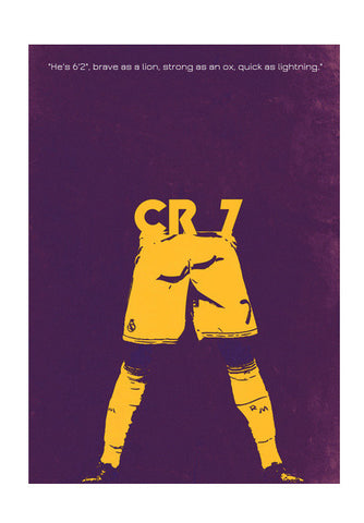 Wall Art, CR7 Wall Art | Artist : Harsh Kumar, - PosterGully
