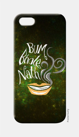 iPhone 5 Cases, Bum Bhole Nath iPhone 5 Case | Artist: Abhishek Faujdar, - PosterGully