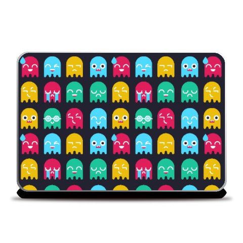 Laptop Skins, Bob The Cute Monster - Laptop Skin | Amit Kumar, - PosterGully