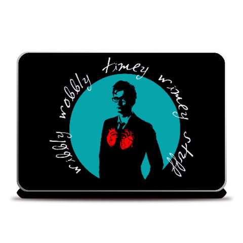 Laptop Skins, Doctor Who - The Tenth Doctor Laptop Skin | Hardy16_, - PosterGully
