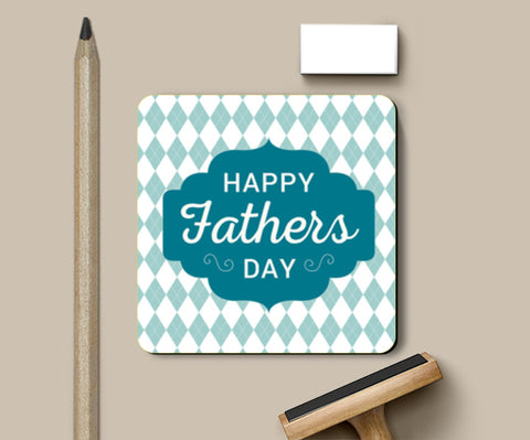 Father's Day With Shape Pattern | #Father's Day Special  Coasters | Artist : Creative DJ