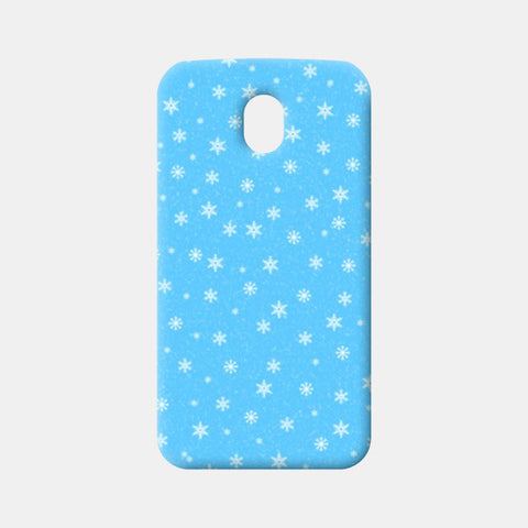 Moto G3 Cases, Snow Flakes Moto G3 Cases | Artist : Shweta Paryani, - PosterGully