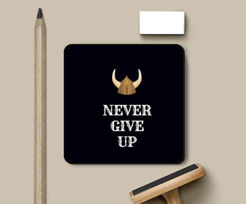 Never Give Up Coasters | Artist : Pallavi Rawal