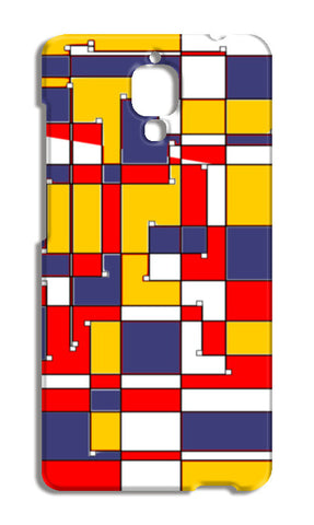 Abstract Squares Xiaomi Mi-4 Cases | Artist : Keshava Shukla
