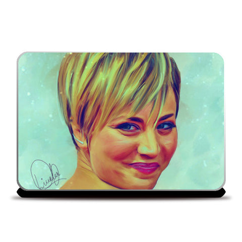 Kaley Cuoco Laptop Skins | Artist : Delusion