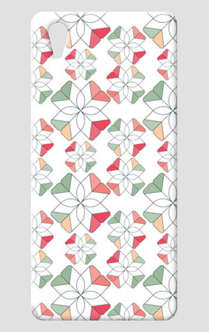 Flowers Retro Shapes Geometric Pattern One Plus X Cases | Artist : Designerchennai