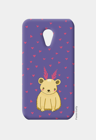 Cute Bear Pattern Moto G2 Cases | Artist : Prajakta Rao