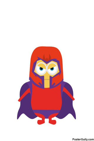 Brand New Designs, Magneto Minimal Artwork | Artist: Akshay Kamble, - PosterGully - 1