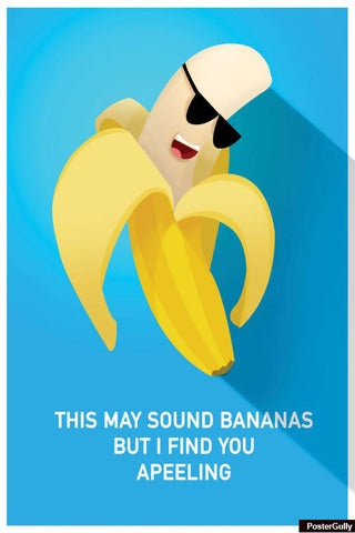 Wall Art, Sound Bananas Artwork | Artist: Kamic Relief, - PosterGully - 1