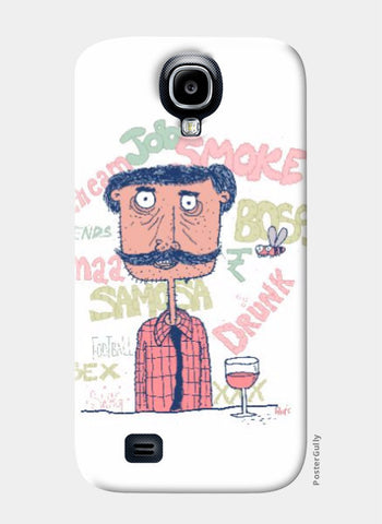 Samsung S4 Cases, The guy samsung s4 Case | Artist : Aroop Mishra, - PosterGully