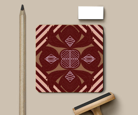 Coasters, Brown Leaves Coasters | Artist : Pratyasha Nithin, - PosterGully