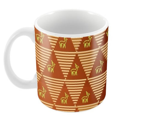 Pyramid Pattern Coffee Mugs | Artist : Pallavi Rawal