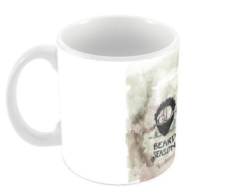 Every season is BEARD SEASON Coffee Mugs | Artist : curiouserncuriouser