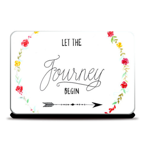 Let the journey begin Laptop Skins | Artist : Anjali Nilakantan