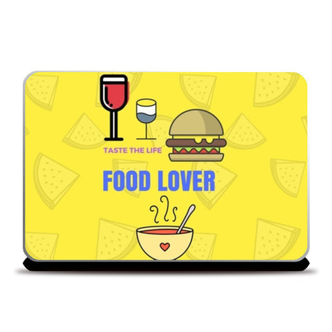 The Food Lover Laptop Skins | Artist : Pallavi Rawal