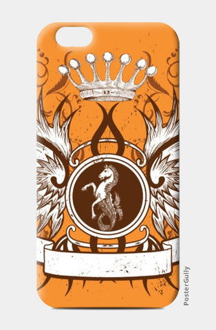 iPhone 6 / 6s Cases, horse with wing,Crown and Floral iPhone 6 / 6s Cases | Artist : Anshuraj Tyagi, - PosterGully