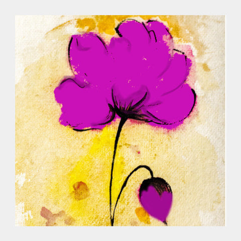 Floral  Water Colour Square Art Prints PosterGully Specials