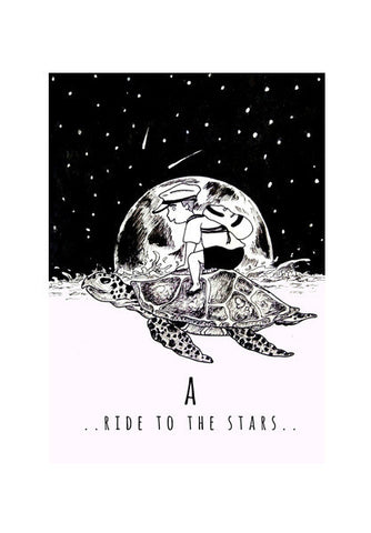 Ride To The Stars Art PosterGully Specials