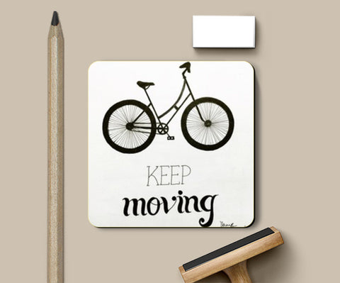Coasters, keep moving Coasters | Artist : Vanya Verma, - PosterGully
