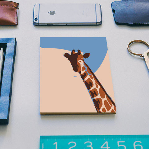 Abstract Giraffe Kids room Notebook | Artist : Keshava Shukla