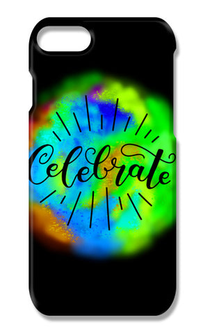 Celebrate caligraphy iPhone 7 Cases | Artist : Stuti Bajaj