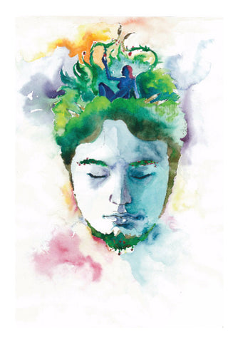 Wall Art, Artist And The Muse Wall Art | Artist:  Aditya Damle, - PosterGully