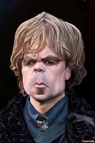 Brand New Designs, Tyrion Lannister Caricature Artwork | Artist: Sri Priyatham, - PosterGully - 1
