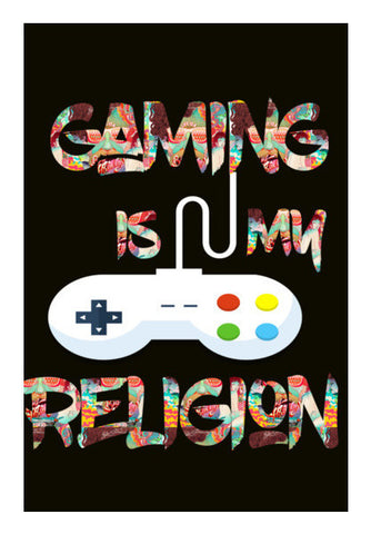 Gaming Is My Religion Art PosterGully Specials