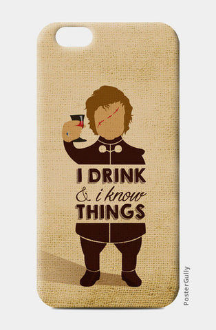 Tyrion Lannister | Game of Thrones iPhone 6/6S Cases | Artist : Neha Karnik