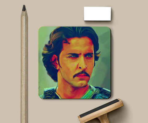 Hrithik Roshan as Akbar Coasters | Artist : Delusion