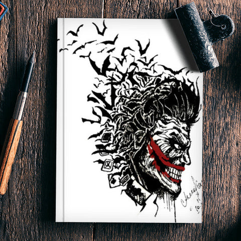 JOKER Notebook | Artist : Asees Kaur
