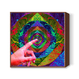 Magic Touch Square Art Prints | Artist : Adyot Rajadhyaksha