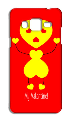 Bee My Valentine Samsung Galaxy J5 Cases | Artist : Designerchennai