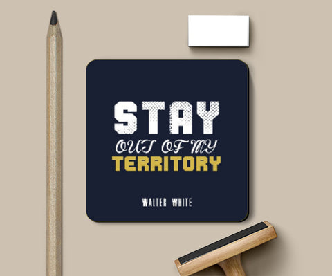Coasters, Stay out of my territory Coaster | Artist: Prashant Negi, - PosterGully