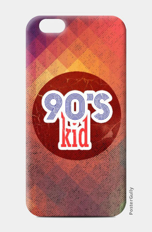 iPhone 6 / 6s, 90s kid iPhone 6 / 6s Case | Artist: Abhishek Faujdar, - PosterGully