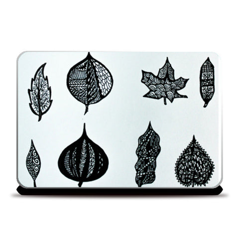 Laptop Skins, Leaves Skin Laptop Skin | Artist: Abhinav Moona, - PosterGully
