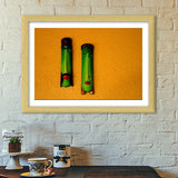 Premium Italian Wooden Frames, On the Wall Premium Italian Wooden Frames | Artist : Anushree Jaiswal, - PosterGully - 5