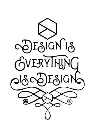 PosterGully Specials, Design is Everything is Design Wall Art | Artist : Keepcalm Prints | PosterGully Specials, - PosterGully