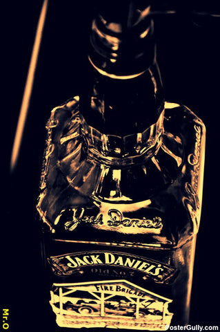Wall Art, Jack Daniels Artwork | Artist: Louis Olakkengal, - PosterGully - 1