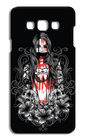 Girl With Tattoo Samsung Galaxy A7 Cases | Artist : Inderpreet Singh