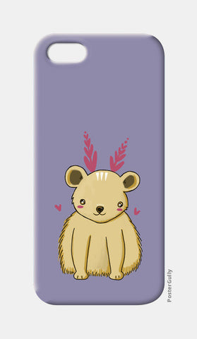 Cute Baby Bear iPhone 5 Cases | Artist : Prajakta Rao