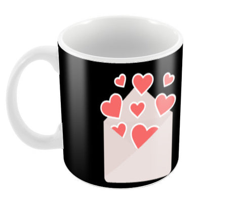 Love is in the air Coffee Mugs | Artist : Pallavi Rawal
