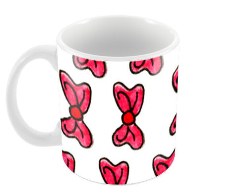 Pinkbow Coffee Mugs | Artist : Megha Vohra