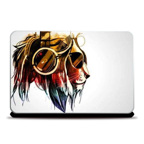leo music Laptop Skins | Artist : nilesh gupta | Special Deal - Size 17""