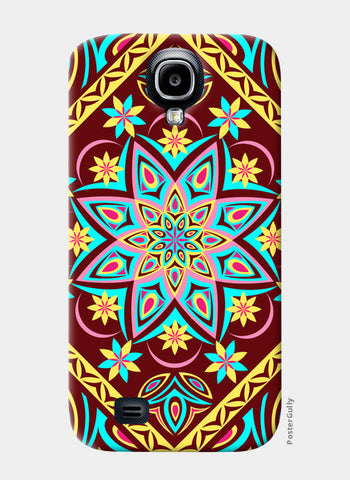 Samsung S4 Cases, Colourful Mandala Samsung S4 Cases | Artist : Madhumita Mukherjee, - PosterGully