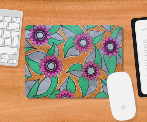 Mousepad, Full Bloom Mousepad | Artist : Kathak Trivedi, - PosterGully