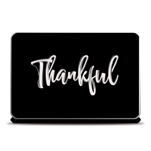 Thankful Laptop Skins | Artist : Creative DJ