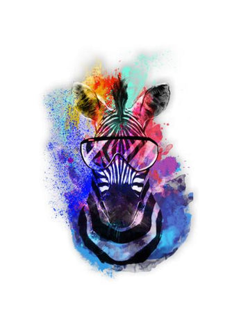 PosterGully Specials, zebra art Wall Art | Artist : nilesh gupta, - PosterGully