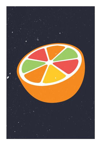 PosterGully Specials, Grapefruit Wall Art | Artist : Designerchennai, - PosterGully