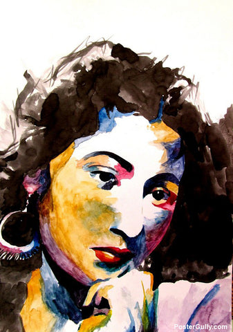 Wall Art, Madhubala Watercolor Artwork | Artist: Sunanda Puneet, - PosterGully - 1